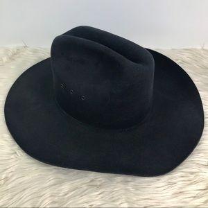 Wrangler genuine lamb skin 4x beaver cowboy hat
